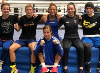 Hrvatske boksačice s Francuskinjama odrađuju trening kamp u Zagrebu