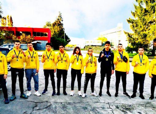 BK Team predator pobjednik 1. HBL/mladi