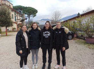 Seniorke na pripremama i Italiji