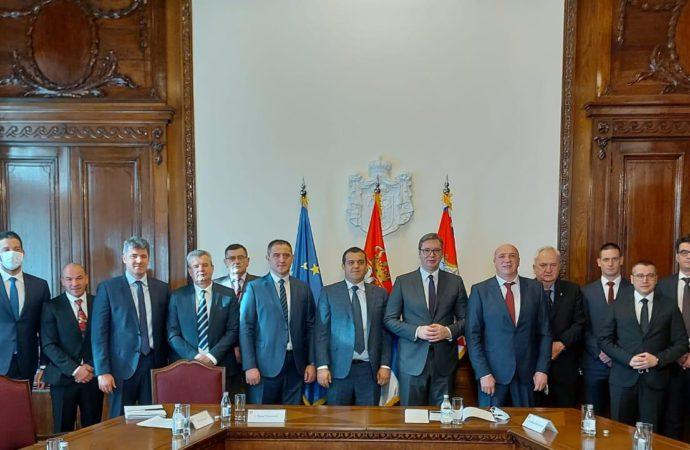 Boksačko izaslanstvo kod predsjednika Srbije