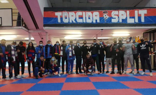 BK Torcida ugostila talijanske boksače i trenera Hajduka Paola Tramezzanija
