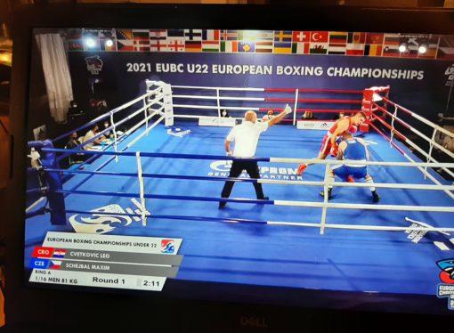 EUROPSKO PRVENSTVO U-22 U ROSETU Gabrijel Veočić u četvrtfinalu, sjajna pobjeda Lea Cvetkovića nad Čehom Maximom