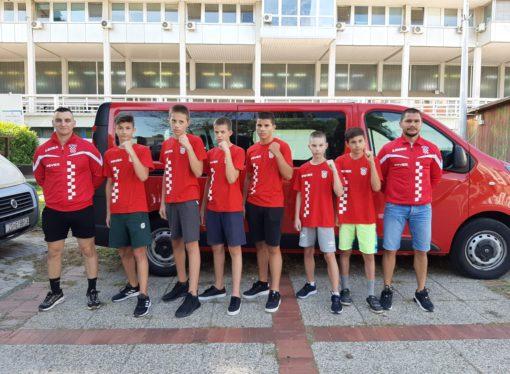 EUROPSKO PRVENSTVO U SARAJEVU Hrvatska kadetska reprezentacija na pripremama u Mrkoplju