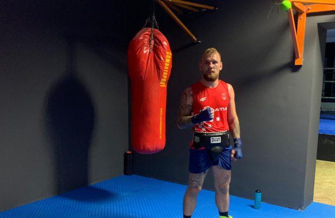 ZAVRŠNE PRIPREME ZA SP U BEOGRADU Olimpijac Luka Plantić u obnovljenom prostoru BK Salona sprema se za Svjetsko prvenstvo