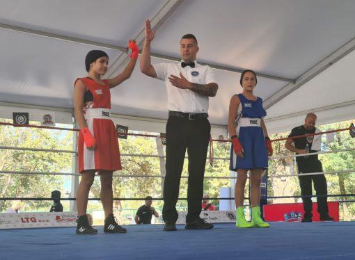 PRVENSTVO HRVATSKE ZA BOKSAČICE Nikolina Ćaćić u ring se vratila pobjedom, odlične mlade Splićanke iz Pit Bulla